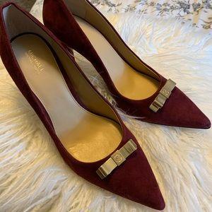 Genuine suede Michael Kors shoes 10